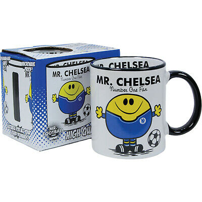 Chelsea FC Mug. Gift for Man Football Soccer Present Xmas Idea Men