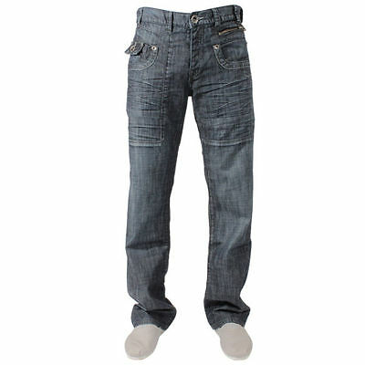 Boys Enzo Ezb10 Straight Leg Blue Jeans In Age 10-11 Bnwt Rrp £39.99