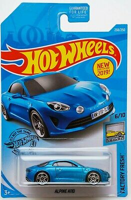 Hot Wheels 2019 Alpine A110 Renault A 110 Blister Us Collector !! Vhtf