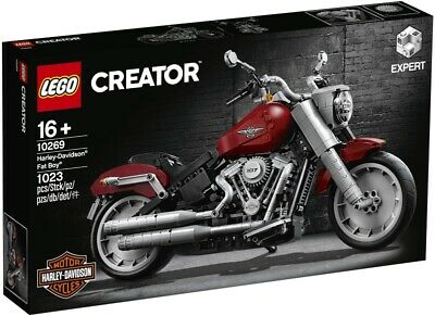 LEGO 10269 Creator Expert Harley Davidson Fat Boy Motorcyle new in sealed box