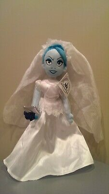 "Disney Parks Exclusive 14"" Haunted Mansion Plush Bride Constance Doll"