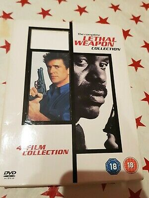 Lethal Weapon Box Set Collection DVD Includes 1 2 3 4  Complete Boxset