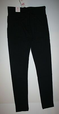 NEW Justice Black Athletic Full Length Leggings NWT 10 12 14 16 20 22 24 Girls