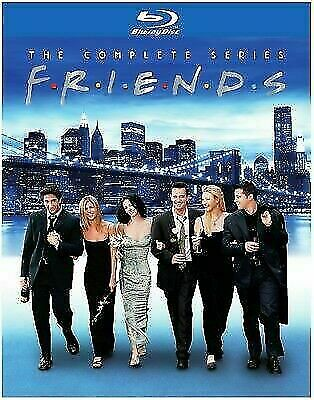 Friends: The Complete Series (Blu-ray, 2017, 21 Discs )