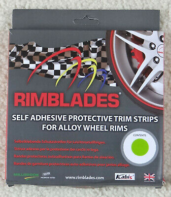 Rimblades Self Adhesive Protective Trim for Alloy Wheels - Green