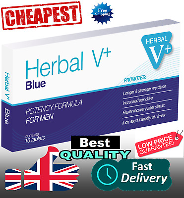 20 X  Blue Sex DOUBLE STRENGTH Tablets For Men! Strongest On eBay! CHEAPEST