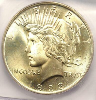 1923 Peace Silver Dollar $1 - Certified ICG MS66 - Rare in MS66 - $370 Value!