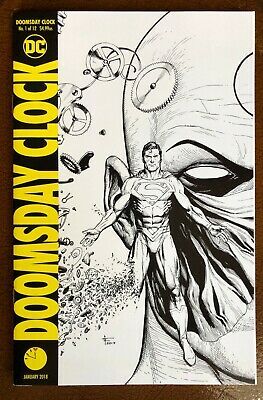 Doomsday Clock #1 Cover D Gary Frank 11:57PM (Rorschach, Mime, Marionette) NM