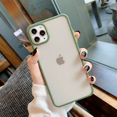 Shockproof Bumper Hybrid Clear Hard Case Cover For iPhone 11 Pro Max XR XS 7 8 6