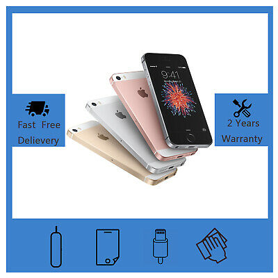 NEW Apple iPhone SE 16GB 64GB Various Colors Factory Unlocked Smartphone UK