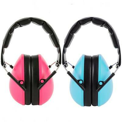 Kids Folding Ear Defenders Autism Noise Reduction Protectors Muffs Child Baby