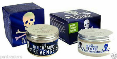The BlueBeards Revenge Post Shave Balm And Luxury Shaving Cream Tubs 100ML Each