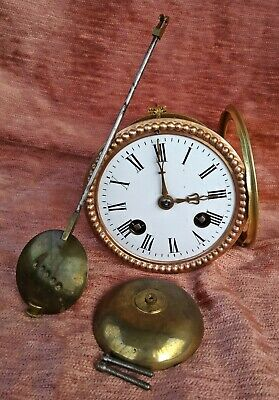 small french clock movement for a mantel clock