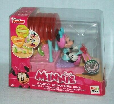 Disney Junior Minnie Groovy Smoothies Bike inc Minnie Figure & 4 Accessories NIB