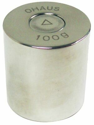Ohaus Calibration Weight, 100g, Stainless Steel - 80850124