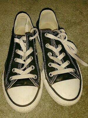 Converse All Stars Black White Size 13 Child Boys Girls