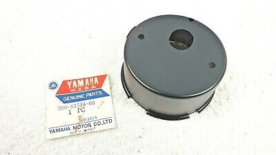Yamaha RD250 RD350 Tachometer Cover Black New Old Stock 360-83508-00