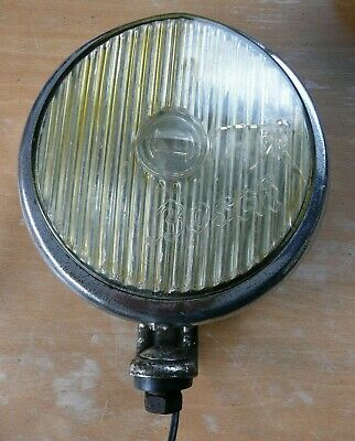 Vintage Bosch Fog Lamp Ratty Condition Suit Classic Vw Splitty Camper Beetle