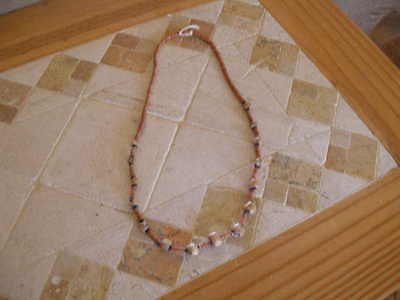 """Pre-Columbian  ~ Tairona ~  Necklace 22""""  Terracotta   ~  Lovely Gift"""