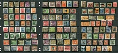 132 NICARAGUAN Stamps late 19th, early 20th century