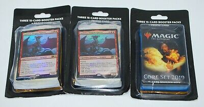 Lot of 9 Magic the Gathering Sealed Booster Packs + Foils