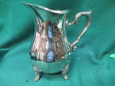 Oneida Silverplate Footed Water Pitcher Vintage Silverplated  #2174/E1