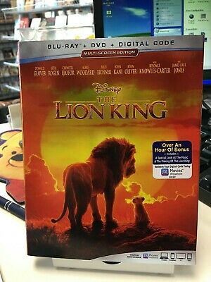 The Lion King (2019 Blu-Ray / DVD) Donald Glover, Beyonce Knowles, DISNEY