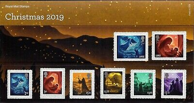 Gb 2019 Mint Christmas Presentation Pack 578 Stamps Booklet Minisheet Smiler