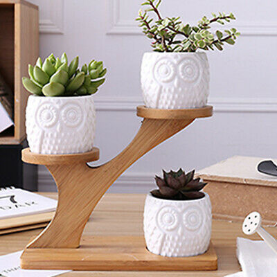 FD3B Geometric Flower Pot Rack Potted Plant Decor Home Plant Flower Stand