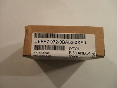 New Factory Sealed Siemens Simatic Bus Connector 6ES7 972-0BA52-0XA0