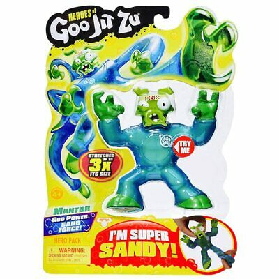 Mantor Heroes of Goo Jit Zu with Sand Force Attack Figure 4""