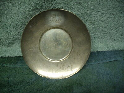"""Tiffany & Co. Makers Sterling Silver 22739L 5-5/8"""" Plate TRAY for pipkin 132 G"""