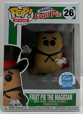 Funko Pop! Ad Icons Fruit Pie The Magician #26 Funko Shop Exclusive W/Protector