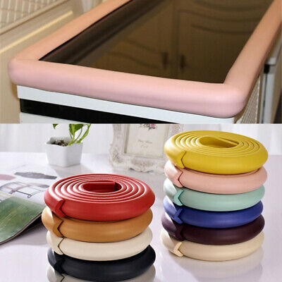 Furniture Foam Bumper Desk Corner Protector Guard Strip Baby Safety Table Edge