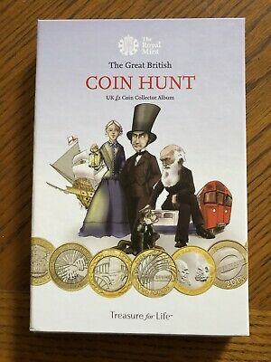 Royal Mint £2 Two Pound Coin Album Coloured Great Condition With Free Coin