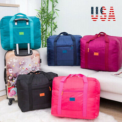 Portable Waterpoof Foldable Travel Luggage Baggage Storage Carry on Duffle Bag