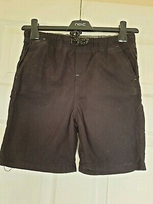 Great Condition Denim & Co Black Pull On Shorts Age 10-11 Years