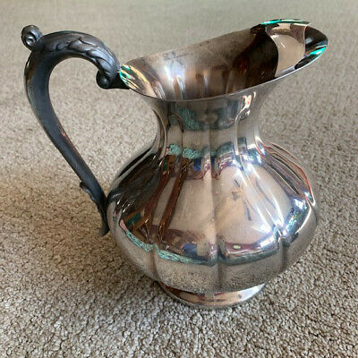 Vintage SHEFFIELD SILVER CO. Silver Plated Pitcher 8507~NICE!