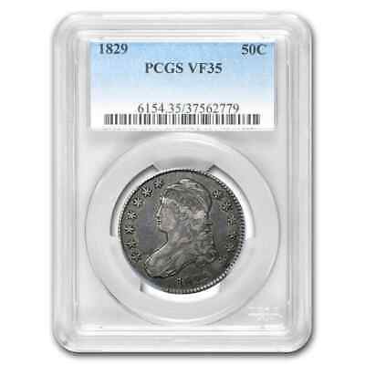 1829 Capped Bust Half Dollar VF-35 PCGS - SKU#201275