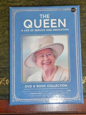 The Queen...a Life Of Service And Dedication.....dvd & Book Set...2016