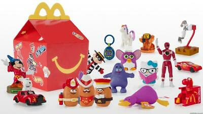 Surprise 40th Anniversary 2019 McDonalds Happy Meal Toys 1-18 Plus Full Set!