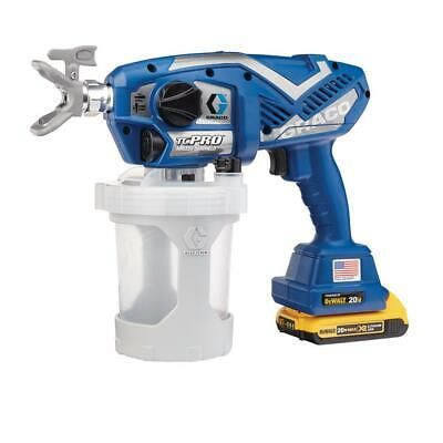 Graco TC Pro Cordless Airless Paint Sprayer 17N166 w/ 1-year Graco Warranty