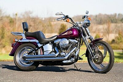 1996 Harley-Davidson Softail  1996 Harley Davidson Softail Springer FXSTS Chromed Out Mag Wheels Many Extras!