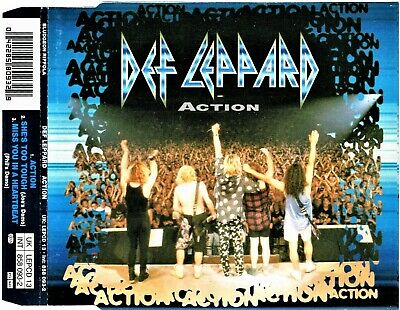 Def Leppard - CD Single - Action - 1993 Bludgeon Riffola LEPCD 13.