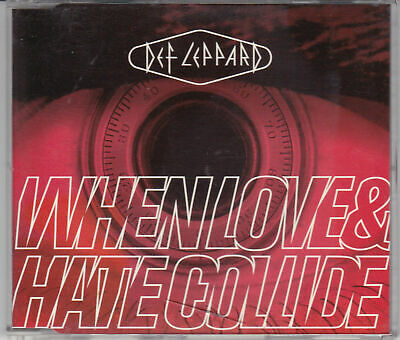 Def Leppard-CD Single -When Love And Hate Collides-1995 Bludgeon Riffola LEPCD14