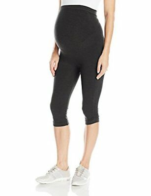 NWT Ingrid & Isabel Women's Maternity Seamless Active Knee Pant M-L