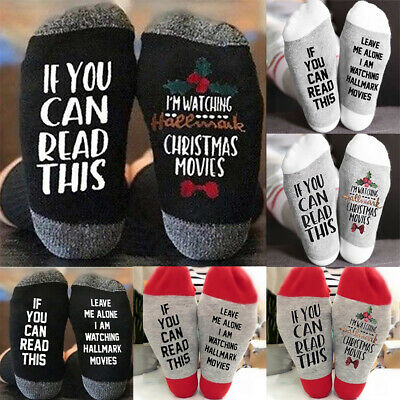 Unisex Xmas If You Can Read This Bring Me a Beer Sock Womens Mens Funny Socks