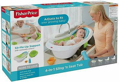 Fisher-Price 4-in-1 Sling 'n Seat Tub New IN BOX SEALED