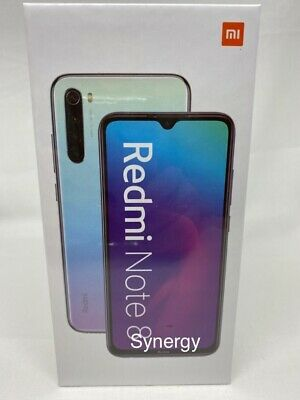 "XIAOMI REDMI NOTE 8 64GB 4GB RAM (FACTORY UNLOCKED) 6.3"" Dual-SIM 48MP WHITE"
