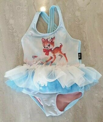 Rock Your Baby Swim Wear bathers tulle skirt size 6-12mths